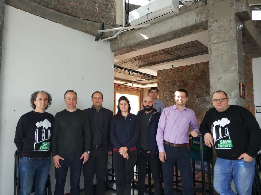 Зустріч команди Save Dnipro з головним редактором Цензор.НЕТ Юрієм Бутусовим